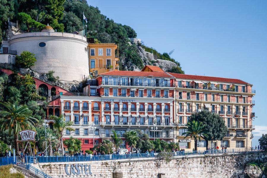尼斯城堡山旅游景点图片