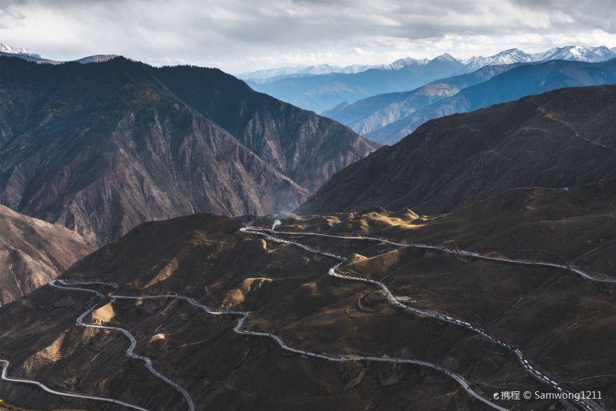怒江七十二道拐旅游景点图片