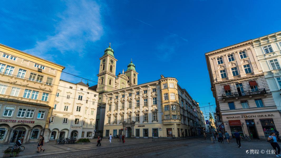 萨尔茨堡老城区旅游景点图片