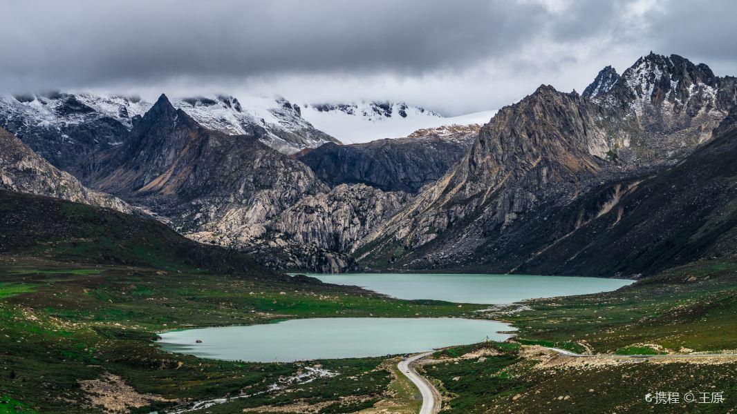 姊妹湖旅游景点图片