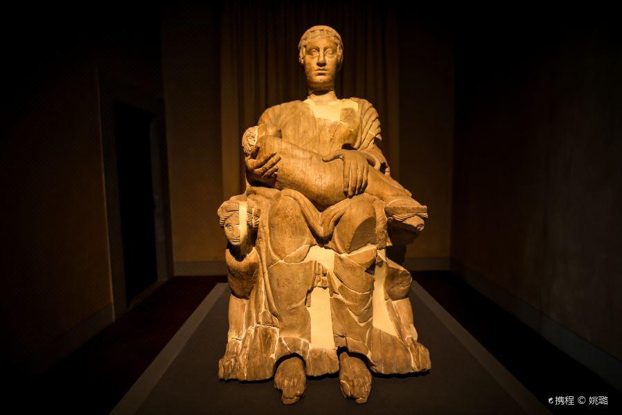 国家考古博物馆旅游景点图片
