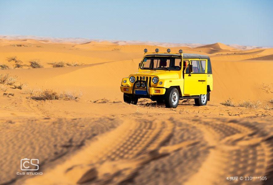 腾格里沙漠营地旅游景点图片