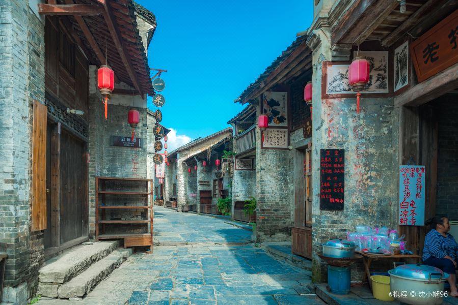 黄姚石板街旅游景点图片