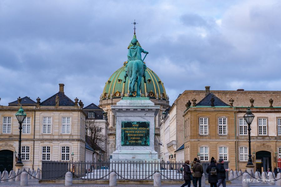 阿美琳堡宫旅游景点图片