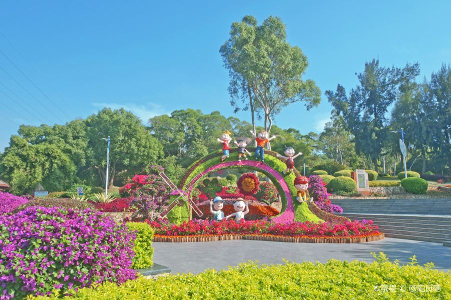忠仑公园旅游景点图片
