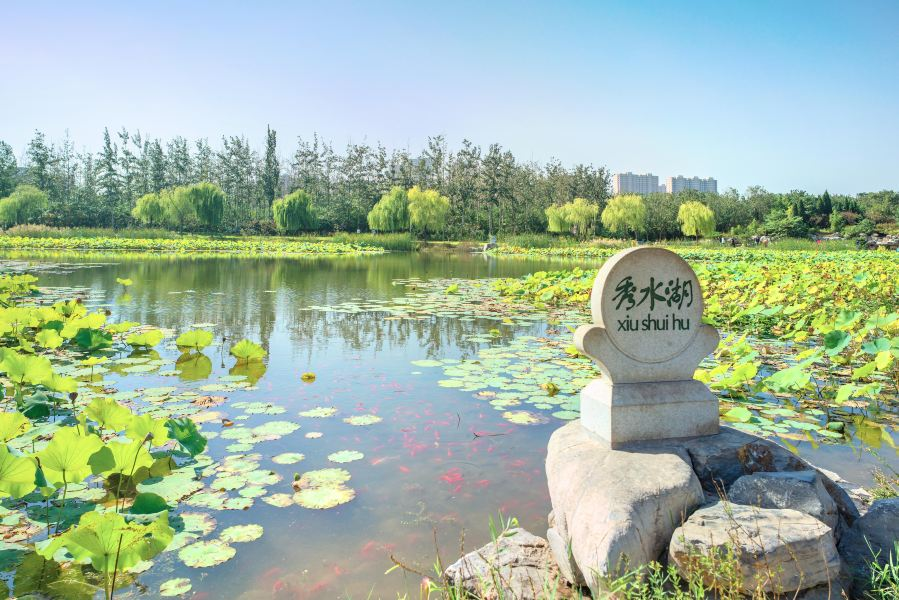 龙盘山公园旅游景点图片