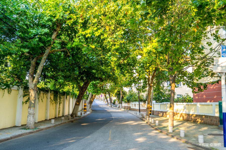 小鱼山文化名人街区旅游景点图片
