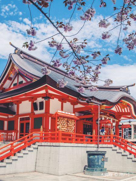 花园神社旅游景点图片