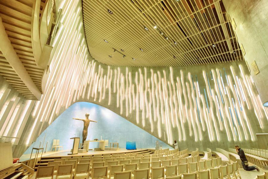 北极光教堂旅游景点图片