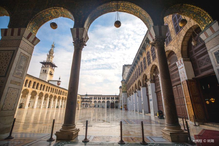 倭马亚大清真寺旅游景点图片