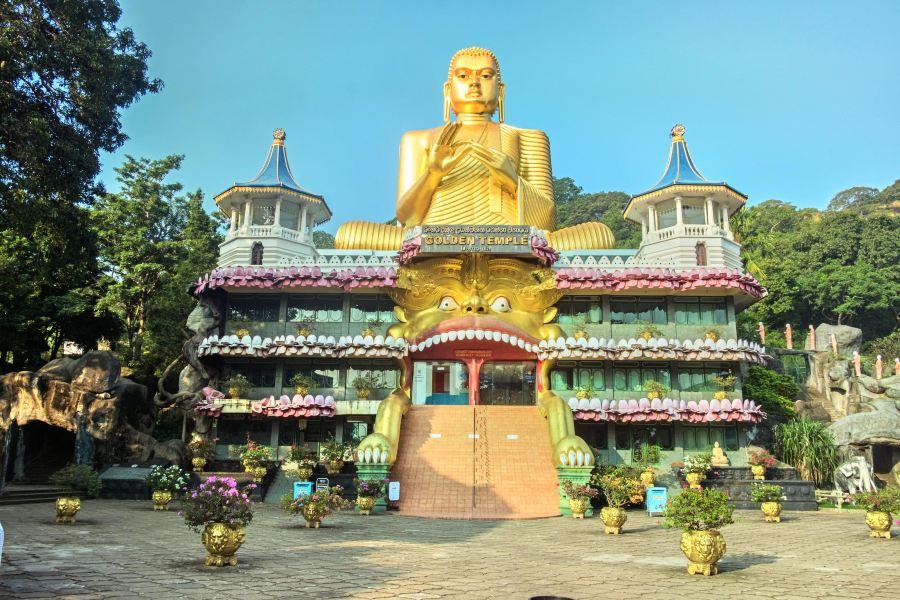 丹布拉石窟寺旅游景点图片