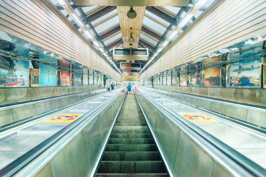 皇冠大扶梯旅游景点图片