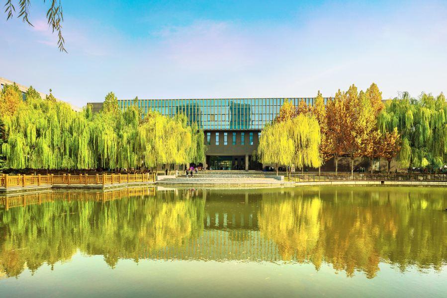 河北师范大学旅游景点图片