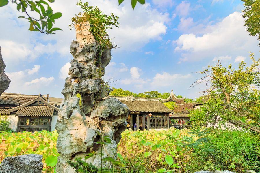 虹饮山房旅游景点图片