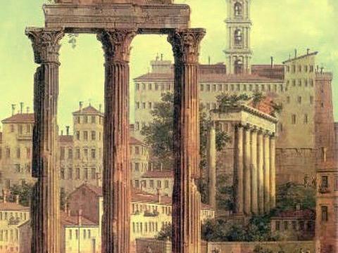 卡斯托尔和波吕克斯神庙的图片