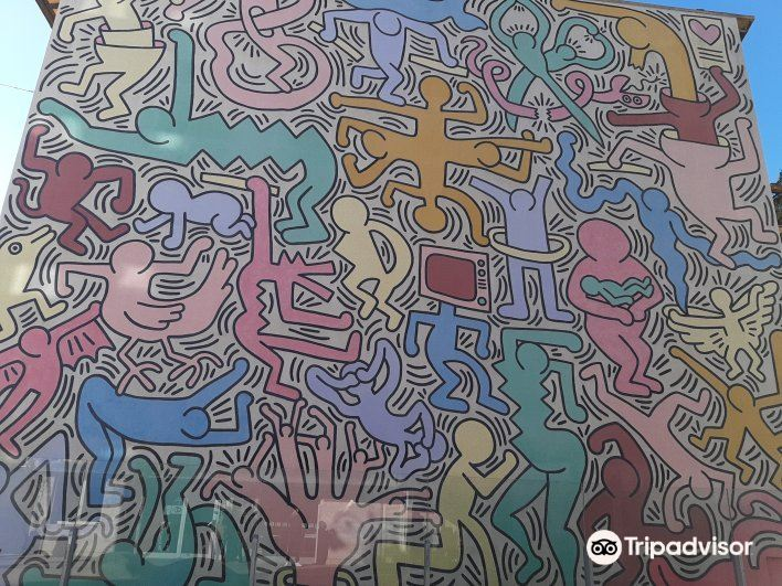 凯斯哈林壁画旅游景点图片