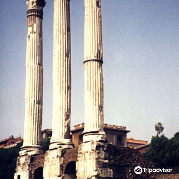 卡斯托尔和波吕克斯神庙旅游景点图片