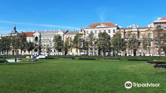 Park Zrinjevac旅游景点图片