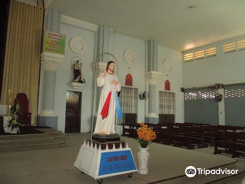 Nha tho Chinh Toa Can Tho旅游景点图片