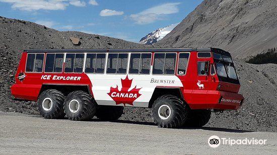 Athabasca Glacier旅游景点图片