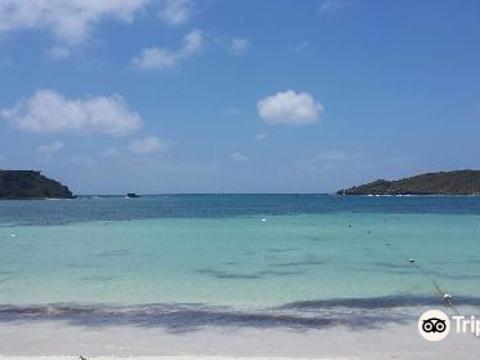 Media Luna Beach旅游景点图片