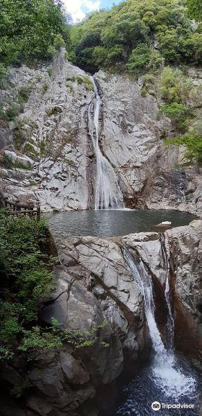 布引瀑布旅游景点图片