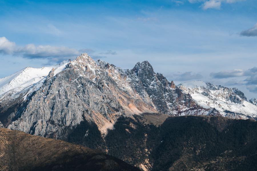 业拉山旅游景点图片