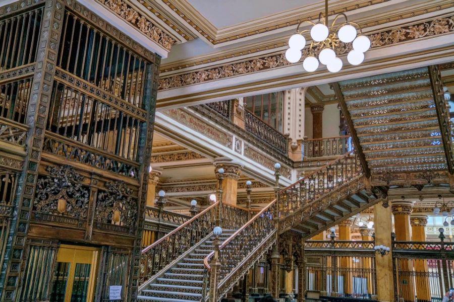 Museo Biblioteca Palacio Postal旅游景点图片